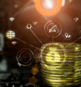 Стартапы, связанные с криптовалютами, наступают.